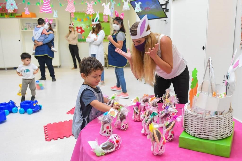 San Fernando: Jardines Maternales y Centros Educativos Municipales celebraron las Pascuas