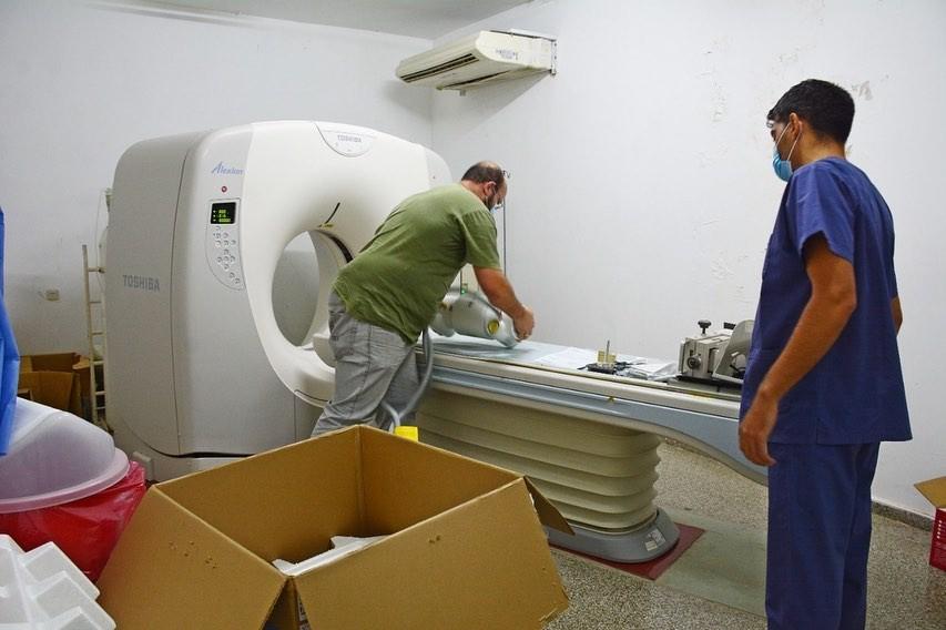 C. de Areco: Llegó el nuevo equipamiento al Hospital Local
