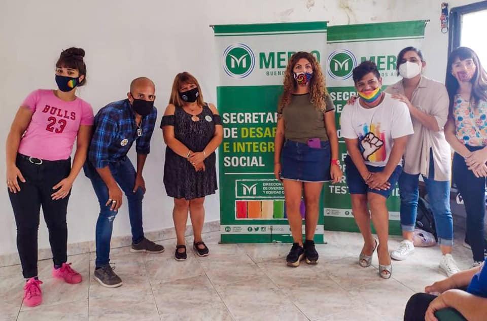 Merlo: Charla sobre salud sexual e identidad de género