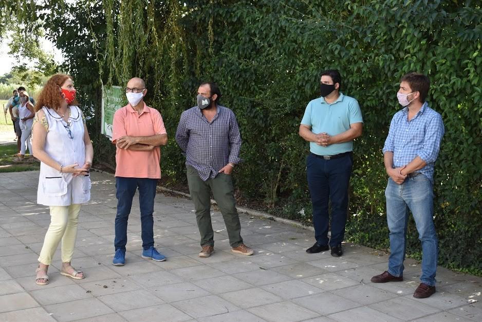 Mercedes: Gobierno Provincial y Municipal impulsan obras de refacción en la Escuela 25 de García