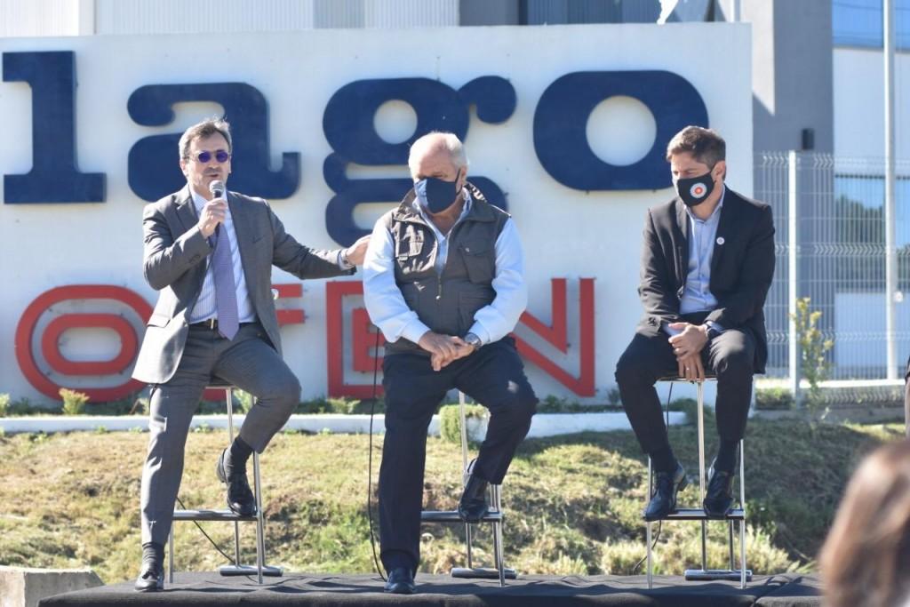 Ezeiza: Kicillof firmó un decreto que reconoce al Polo Industrial Ezeiza como parque industrial de la Provincia