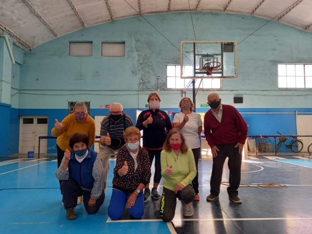 Tres Arroyos: Actividades deportivas para adultos mayores