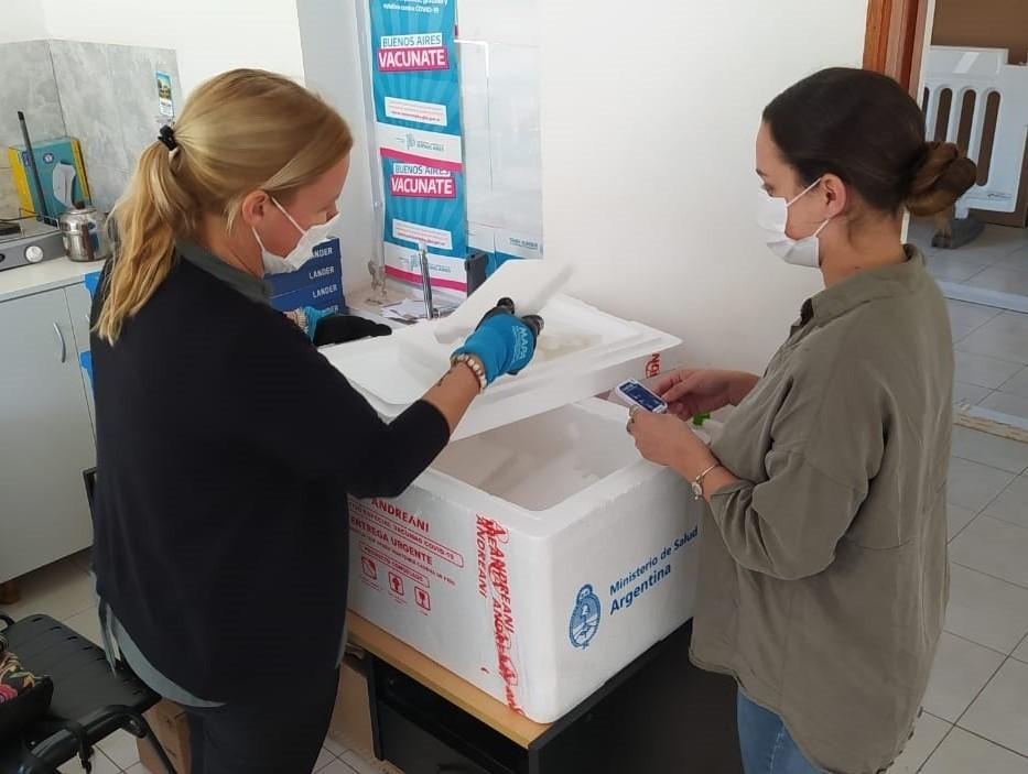 """Tres Lomas: Llegaron 150 primeras dosis de vacunas """"SPUTNIK V"""""""