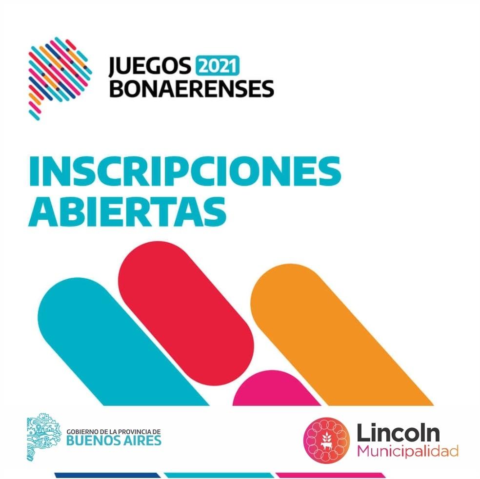 Lincoln: Está abierta la inscripción para los Juegos Bonaerenses 2021