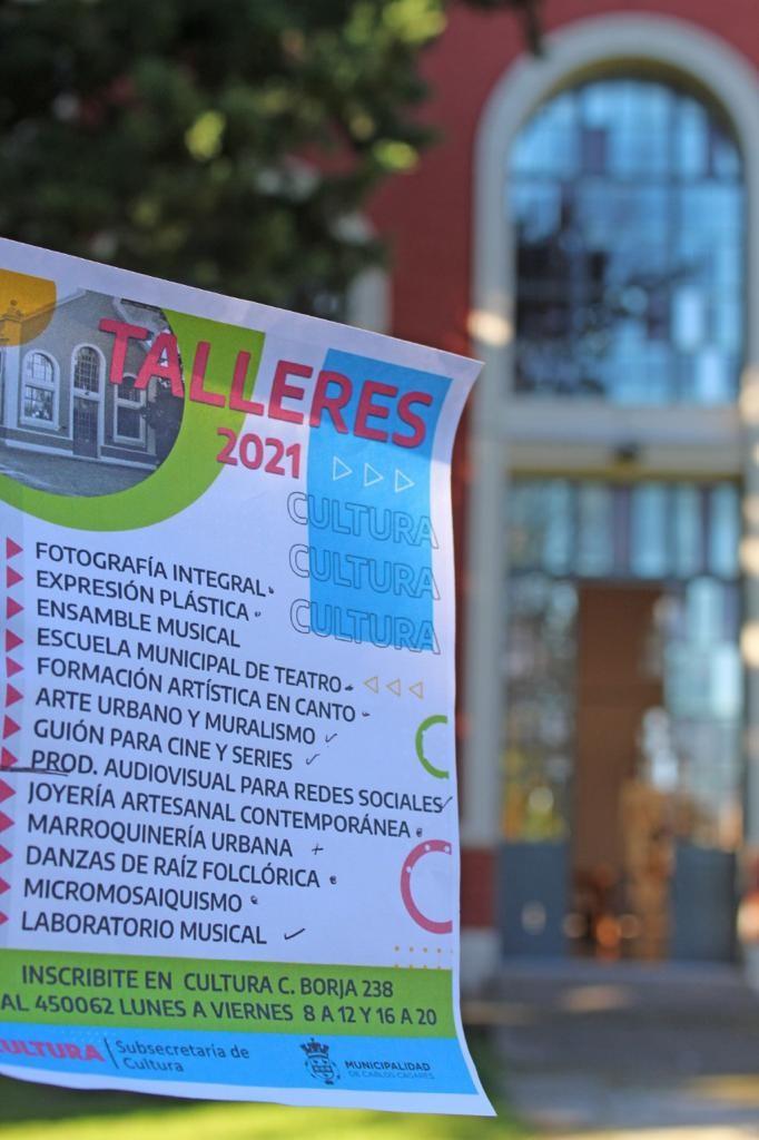 Carlos Casares: Cultura dio inicio a sus Talleres 2021 con más de 300 inscriptos