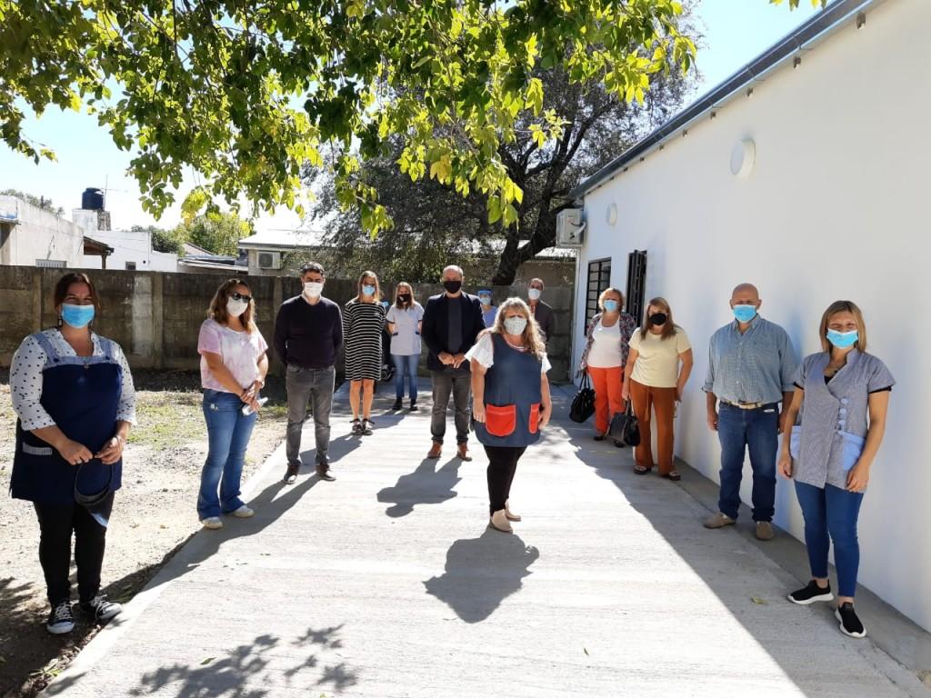 Brandsen: Se inauguró obra de comedor y sanitarios en el CEC 801 extensión Las Mandarinas