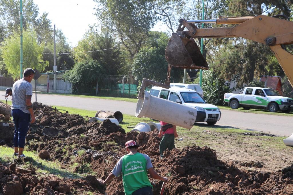 Ensenada: Más obras y servicios en Punta Lara