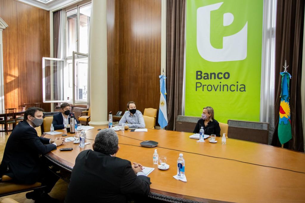 Salliqueló: Nosetti participó de la presentación de la nueva línea de Provincia Leasing para Municipios
