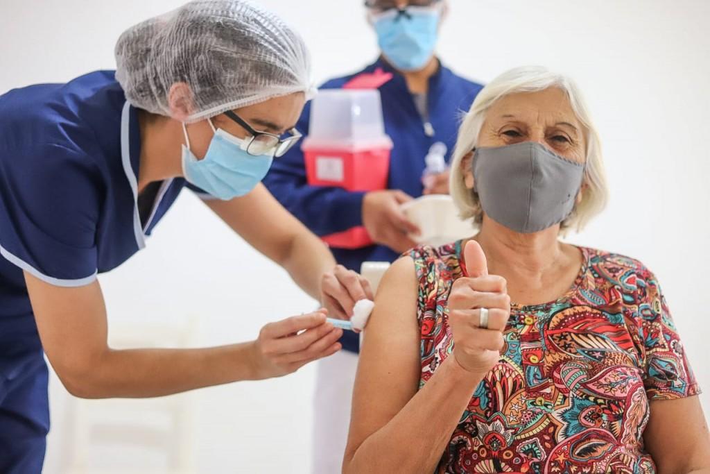 Pinamar: Vacunación contra el COVID