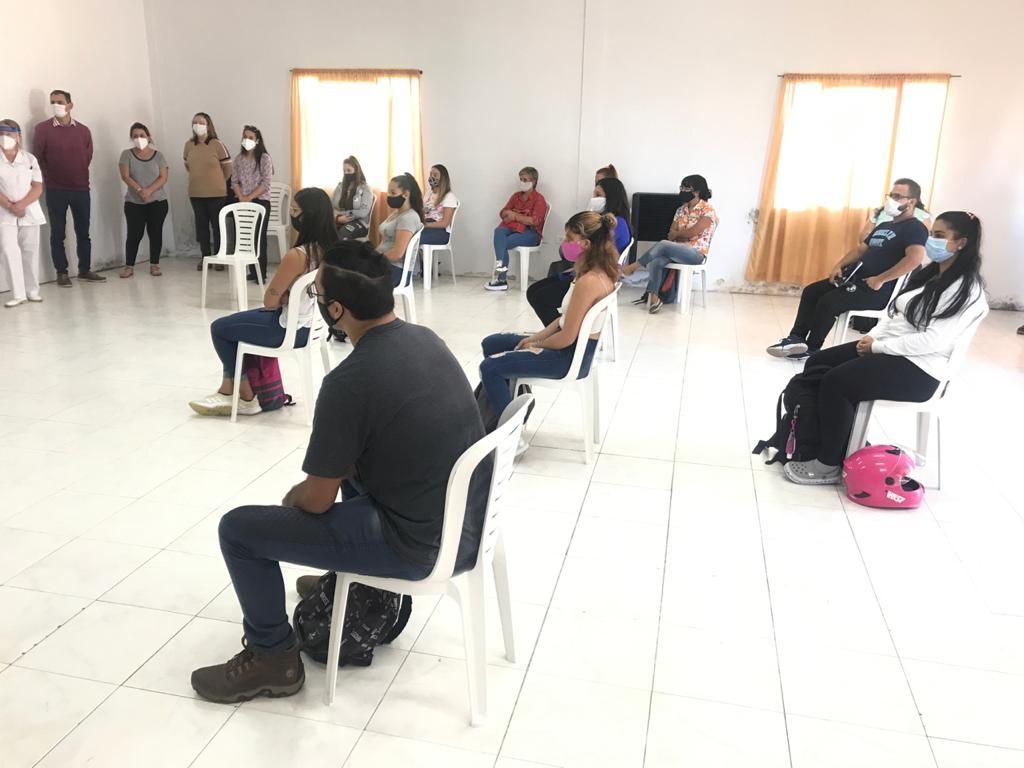 H. Yrigoyen: En instalaciones de CRUHY se llevó a cabo el inicio de la Tecnicatura Superior en Enfermería