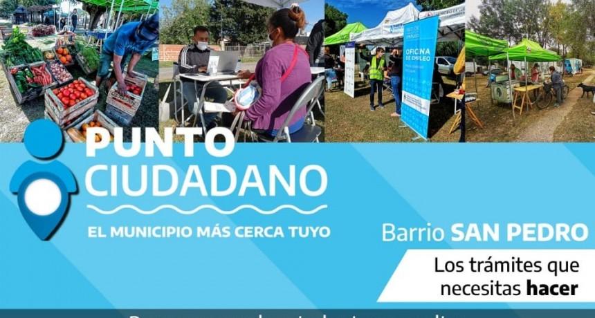 Luján: Punto Ciudadano y Mercado de Cercanía llegan a la plaza del barrio San Pedro