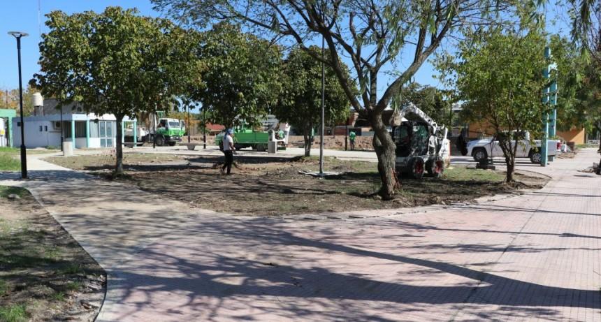Ensenada: Nuevas plazas para el disfrute de las familias del distrito