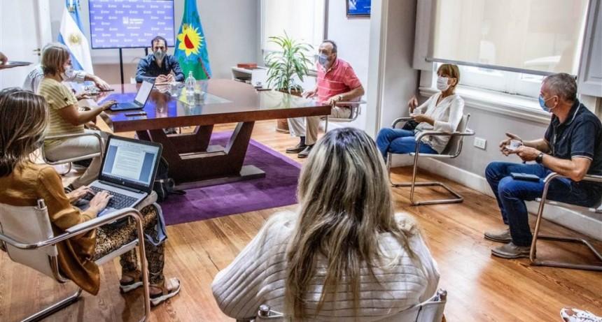 Junín: El intendente se reunió nuevamente con su equipo de Salud para monitorear la situación epidemiológica