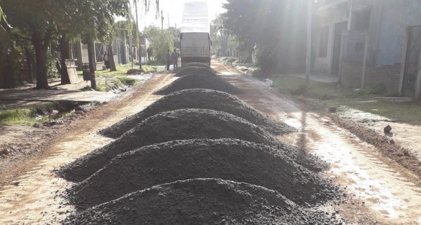 Pte. Perón: Fuerte impulso a la obra pública del distrito