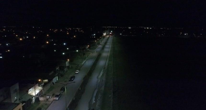 Bahía Blanca: Se amplía el uso del sistema LED en la ciudad