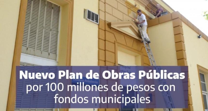 Luján: El Intendente lanzó un plan de obras públicas con fondos municipales por más de 100 millones de pesos