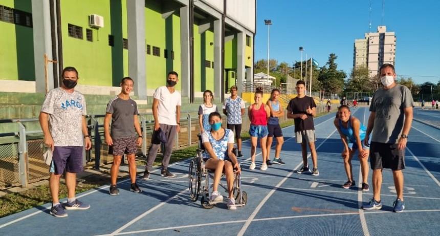 Lobería: Atletas en Concepción del Uruguay