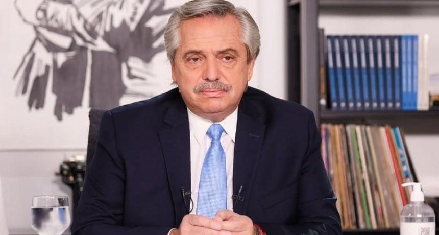 """Alberto Fernández: """"Nuestra obligación es tomar medidas para evitar la saturación del sistema de salud"""""""