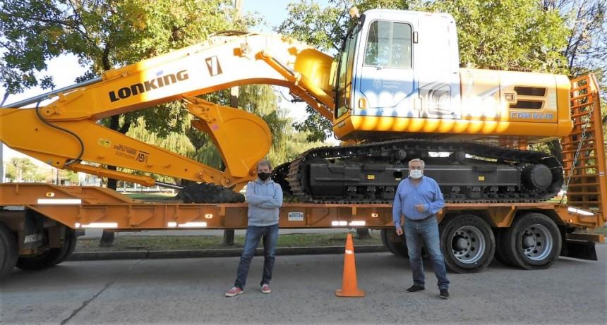 Gral. Villegas: Nueva Retroexcavadora para el Municipio