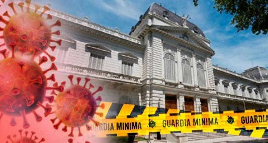 La AJB exige que el Poder Judicial funcione sólo con guardias mínimas
