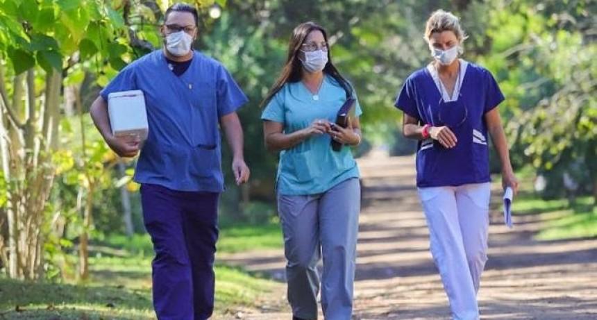 Pinamar: El consultorio sale a la calle