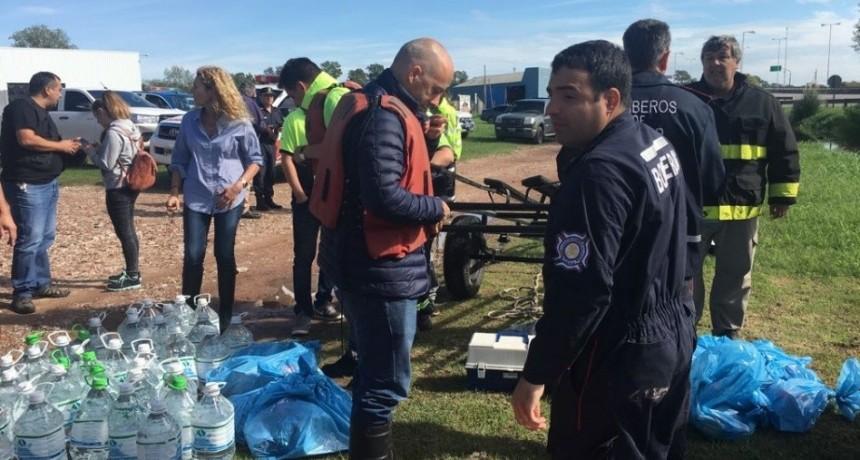 Pilar: El intendente Ducoté montó un show con el drama de la inundación