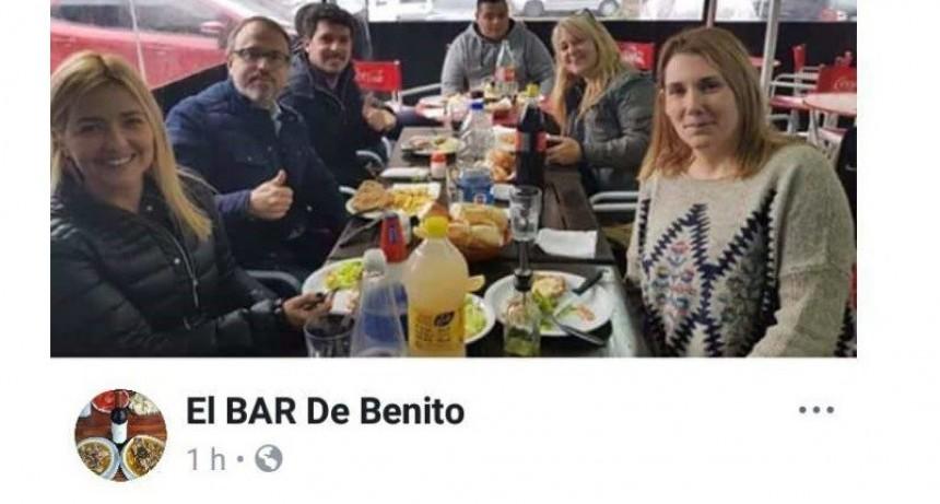 Tres de Febrero: Valenzuela fue escrachado por vecinos en un bar