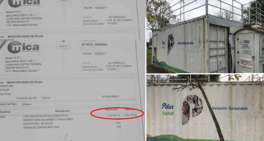 """Pilar: Concejal denunció a Ducoté por sobreprecio en compra de una """"Estación Saludable"""" abandonada"""