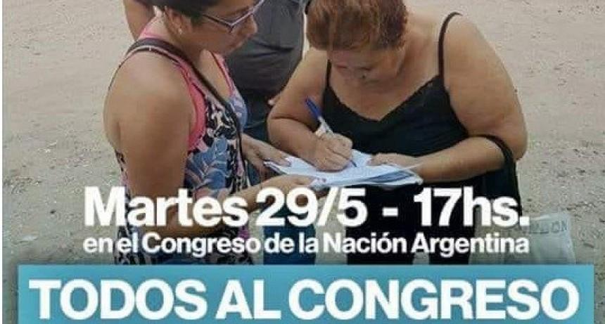 """Campaña """"Un millón de firmas contra la Reforma Previsional"""""""