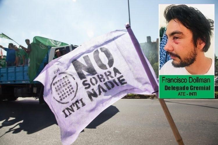 """Francisco Dolman, delegado del INTI asegura que """"sufrimos violencia de la patota del PRO"""""""