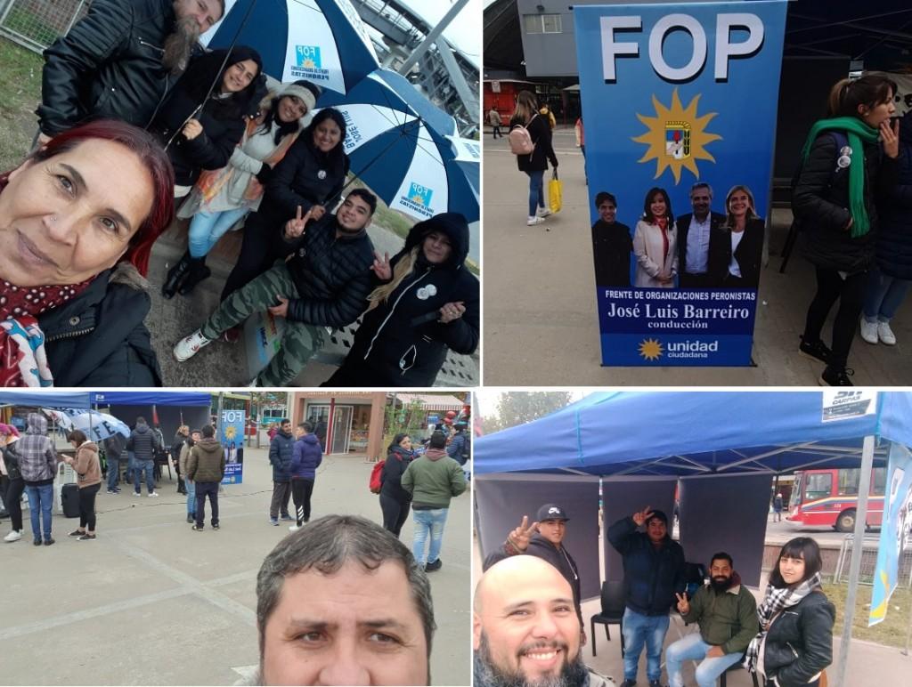 """Barreiro: """"Nuestra militancia ganó la calle para acompañar a Alberto, Cristina, Axel y Verónica"""""""