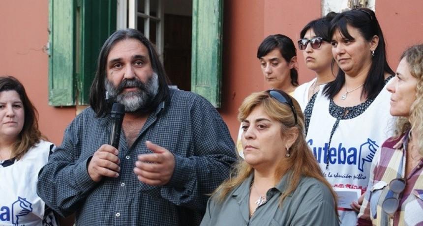 """Baradel: """"El pueblo de Los Toldos debe pelear para que Vidal reabra las escuela albergue y la agraria"""""""
