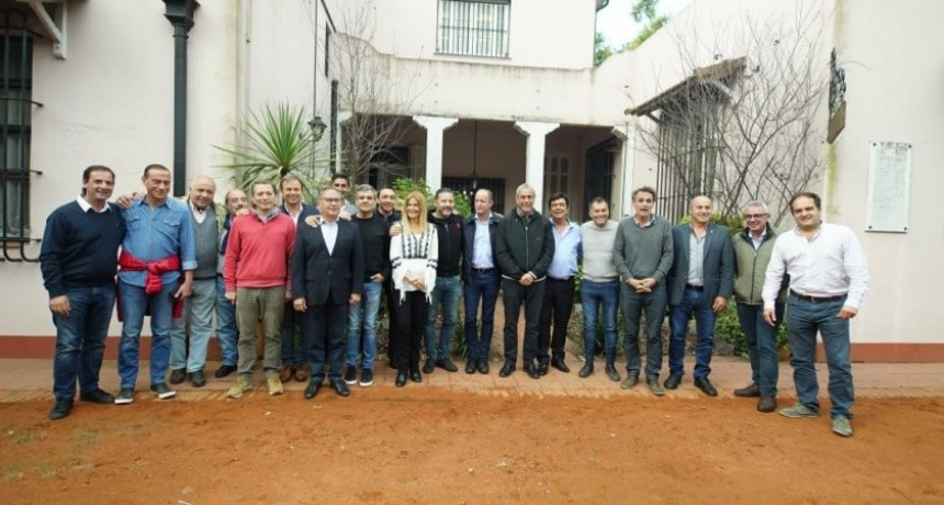 Merlo: Intendentes del Conurbano se reunieron tras el retorno de Cristina al PJ