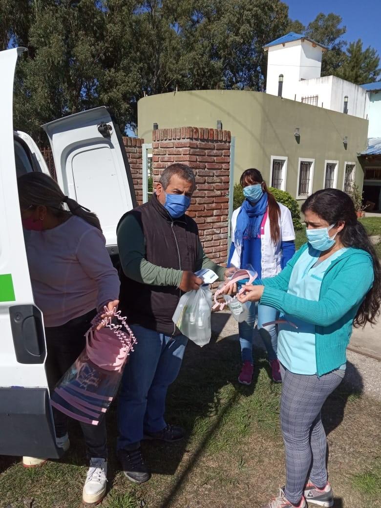Berisso: Se entregaron insumos y elementos de protección personal donados al Municipio