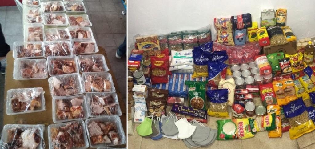 Colón: Agradecen donaciones de alimentos del Círculo Italiano y la Escuela Salesiana