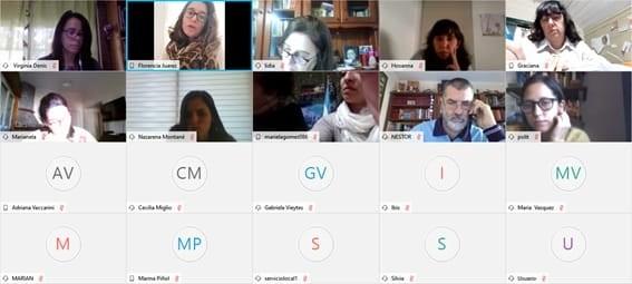 Roque Pérez: Graciana Uruslepa participó de la reunión virtual con la ministra Estela Díaz