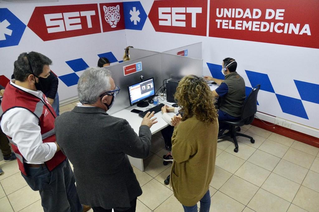 Tigre: Zamora presentó un servicio de Telemedicina para atención de los vecinos
