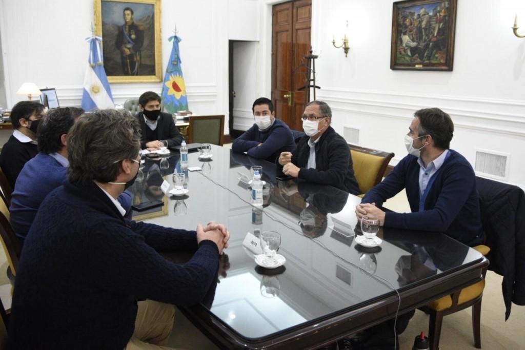 Pilar: Federico Achával se reunió con Kicillof e intendentes de otros distritos