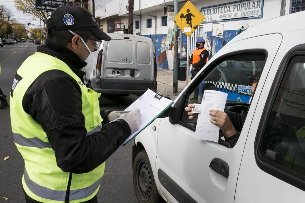 Vicente López: Se hicieron más de 200 mil controles vehiculares
