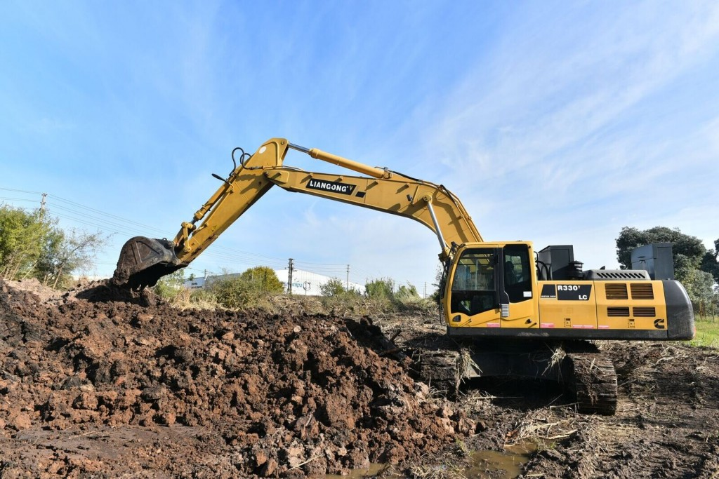 Escobar: Avanza la construcción de un nuevo reservorio