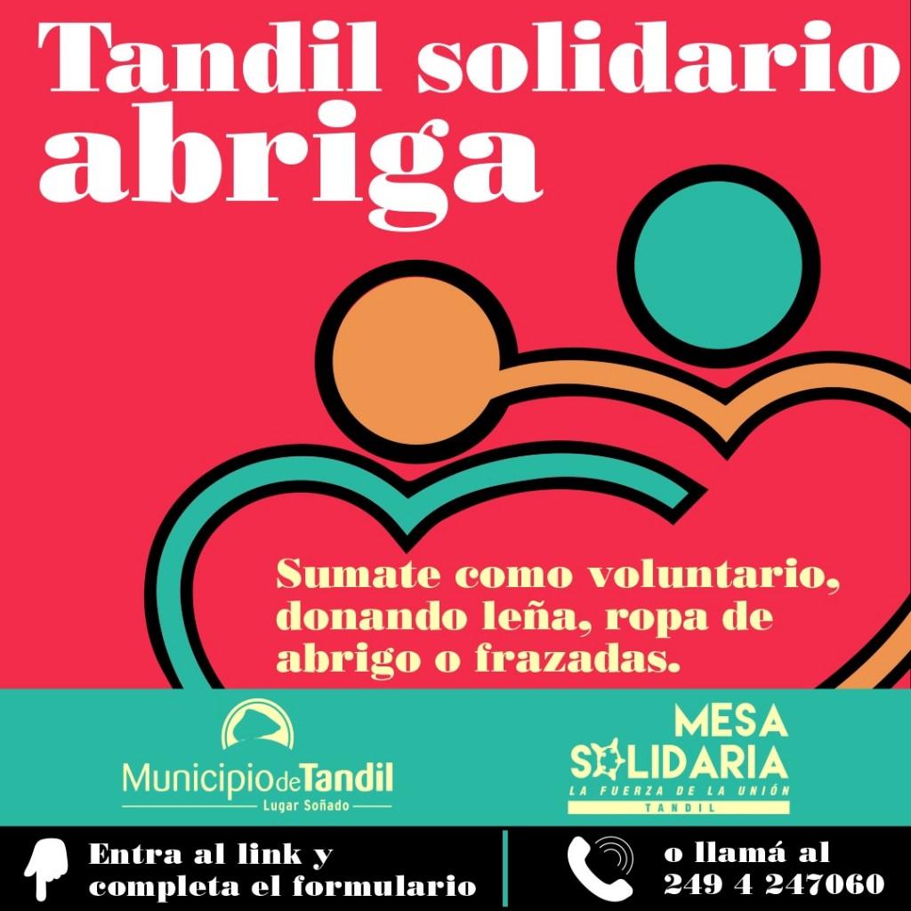 Tandil: Inician campaña de acompañamiento y asistencia por baja temperatura