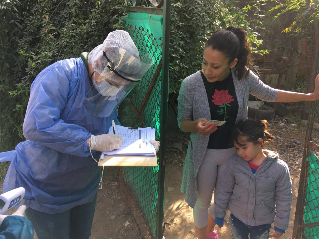 "E. Echeverría: El municipio realiza ""Operativo Preventivo Puerta a puerta"", en barrios vulnerables"