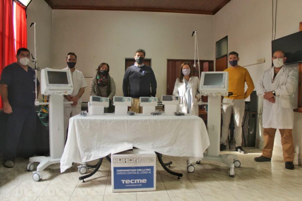 Luján: El Municipio suma dos nuevos respiradores al Hospital