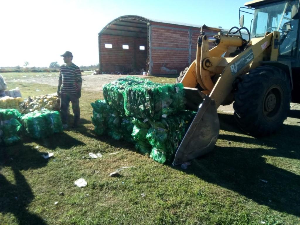 Salliqueló: La Municipalidad obtiene ingresos extras con la venta de 18 Tn de materiales reciclados