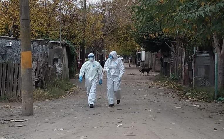 S. Nicolás: Campaña de testeos de temperatura en Barrio Provincianos