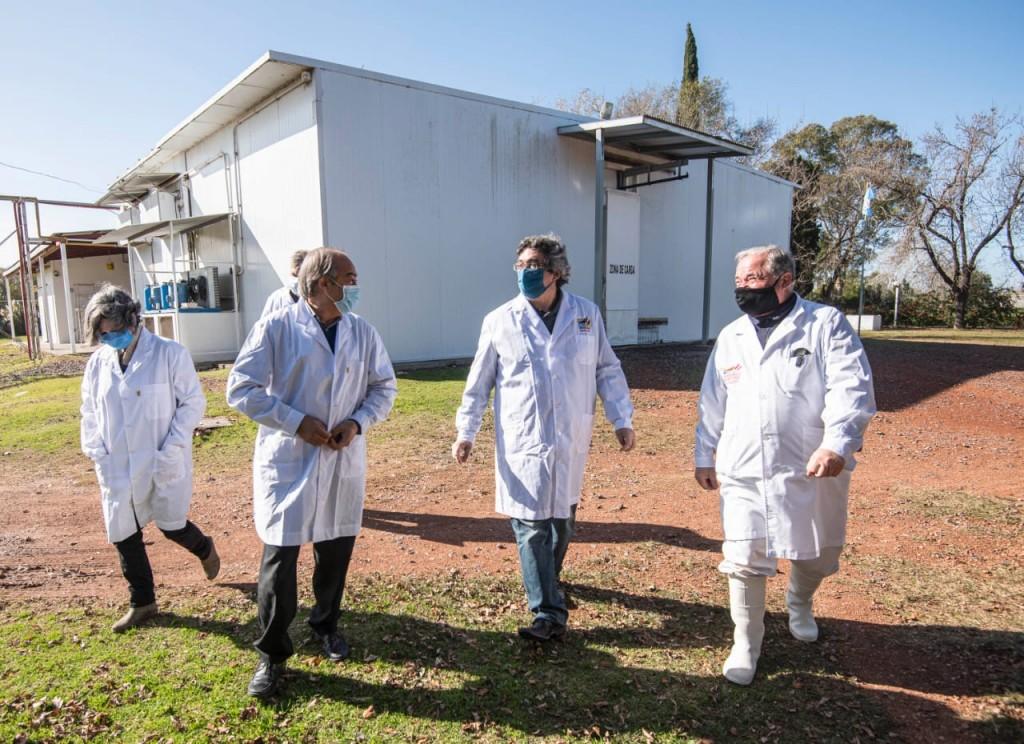 El Ministro de desarrollo Agrario de la Provincia de Buenos Aires visitó Tapalqué