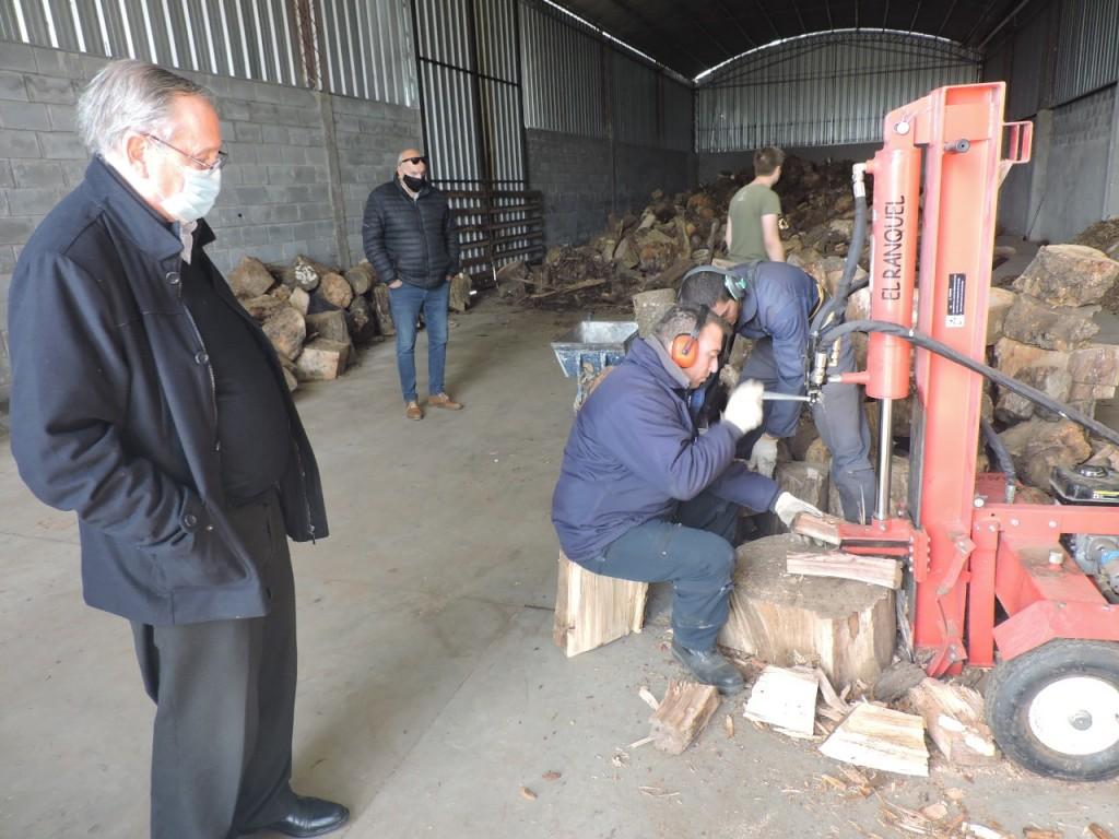 Tandil: Mesa solidaria y el municipio avanza con el proyecto de recepción de leña