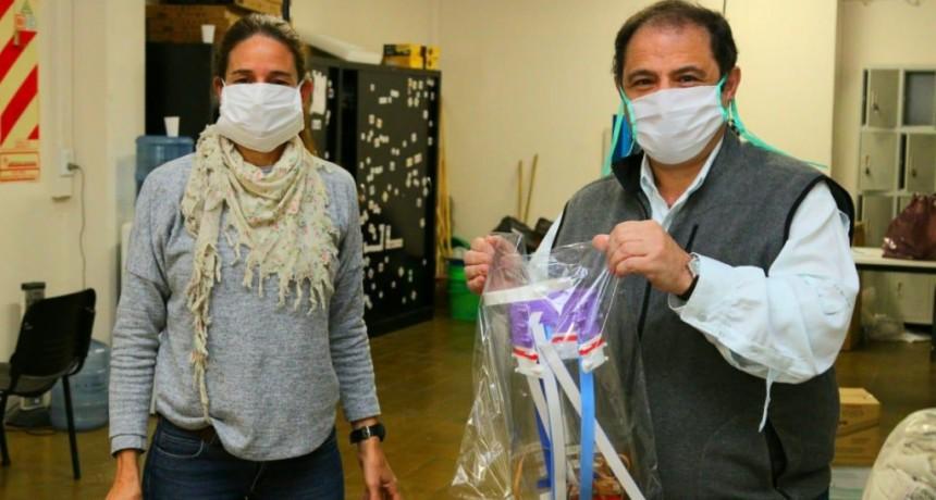 Pergamino: Nuevo modelo de máscaras faciales para personal de Salud