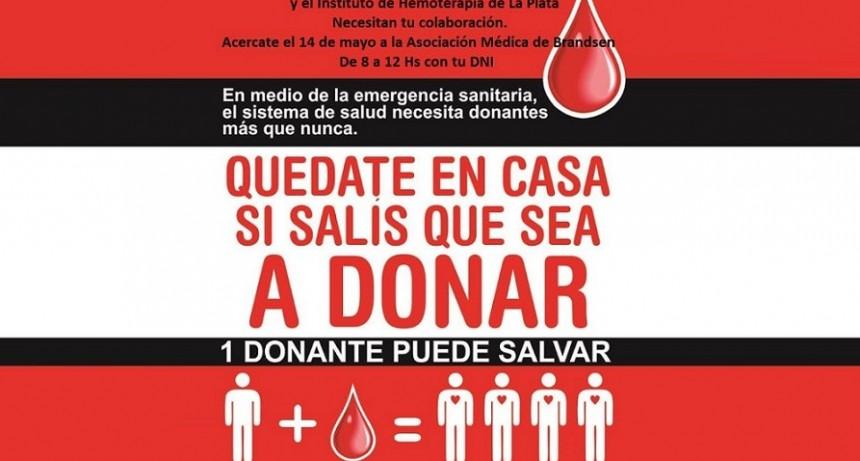 Brandsen: La Asociación Médica realiza una nueva colecta de Sangre