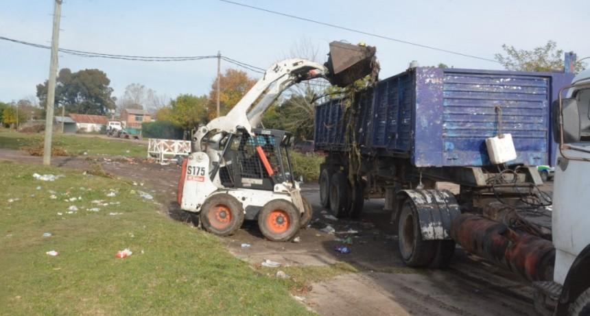 Berisso: Continúan las tareas de mantenimiento en la Delegación Municipal Zona II